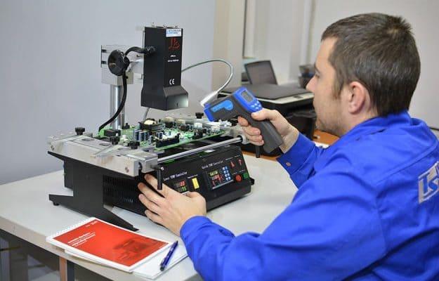 диагностика платы в лаборатории Техносенс Сервис